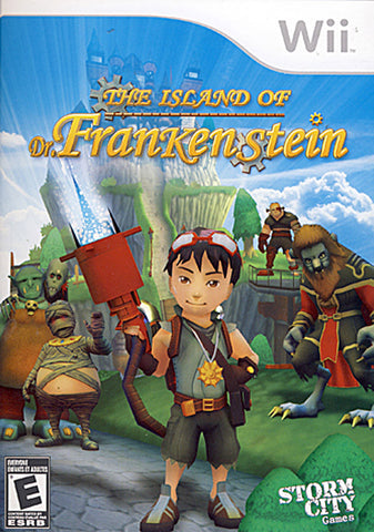 Island of Dr. Frankenstein (Bilingual Cover) (NINTENDO WII) NINTENDO WII Game