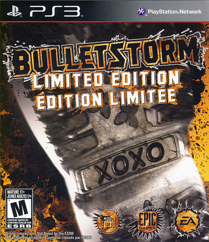 Bulletstorm - Limited Edition (Bilingual Cover) (PLAYSTATION3) PLAYSTATION3 Game