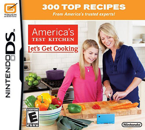 America's Test Kitchen - Let's Get Cooking (DS) DS Game