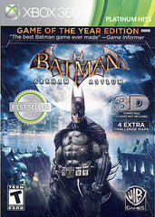 Batman Arkham Asylum - Game of the Year (XBOX360)