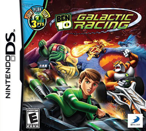 Ben 10 - Galactic Racing (DS) DS Game