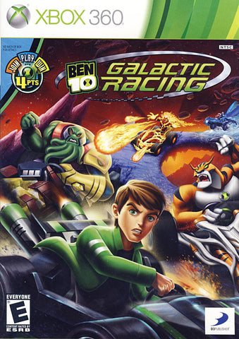 Ben 10 - Galactic Racing (Trilingual Cover) (XBOX360) XBOX360 Game