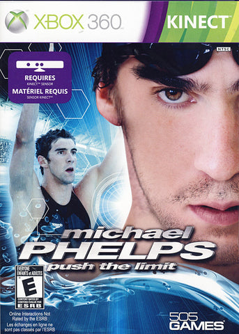 Michael Phelps - Push the Limit (Kinect) (Bilingual Cover) (XBOX360) XBOX360 Game