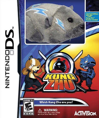 Kung Zhu with Gift (Limited Edition with Hamster) (DS) DS Game