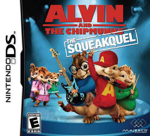 Alvin And The Chipmunks - The Squeakquel (DS) DS Game