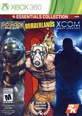 2K Essentials Collection (Bioshock, Borderlands and XCOM Enemy Unknown) (Bilingual Cover) (XBOX360)