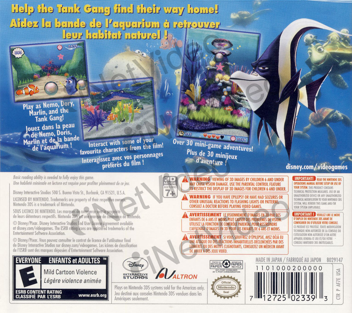 Finding Nemo - Escape To The Big Blue (Special Edition