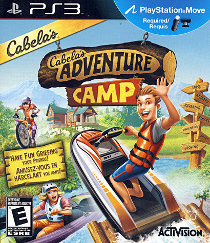 Cabela s Adventure Camp (Bilingual Cover) (PLAYSTATION3) PLAYSTATION3 Game