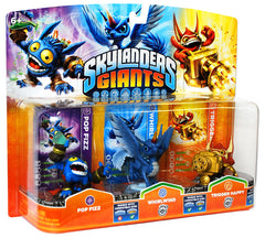 Skylanders Giants Triple Pack #1 (Pop Fizz / Whirlwind / Trigger Happy) (Bilingual Cover) (TOYS)