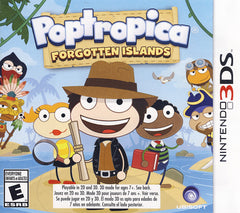 Poptropica - Forgotten Islands (Trilingual Cover) (3DS)