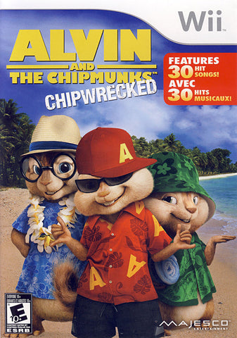 Alvin And The Chipmunks - Chipwrecked (Bilingual Cover) (NINTENDO WII) NINTENDO WII Game