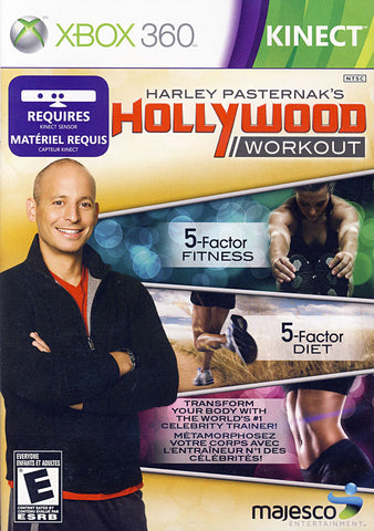 Harley Pasternak s - Hollywood Workout (Kinect) (Bilingual Cover) (XBOX360) XBOX360 Game