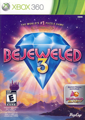 Bejeweled 3 (Bilingual Cover) (XBOX360) XBOX360 Game