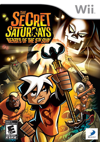 The Secret Saturdays - Beasts of the 5th Sun (NINTENDO WII) NINTENDO WII Game