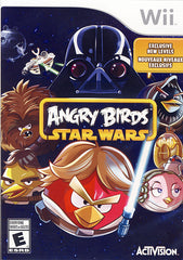 Angry Birds - Star Wars (Bilingual Cover) (NINTENDO WII)