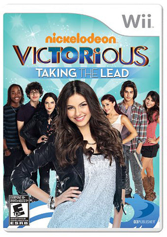 Victorious - Taking the Lead (Trilingual Cover) (NINTENDO WII) NINTENDO WII Game