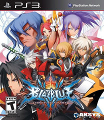 BlazBlue - Chrono Phantasma (PLAYSTATION3)