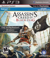 Assasin's Creed 4 - Black Flag (Walmart Edition) (PLAYSTATION3)