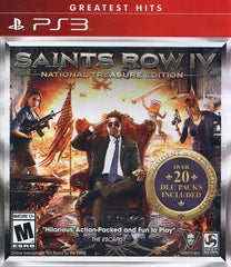 Saints Row IV - National Treasure Edition (PLAYSTATION3)