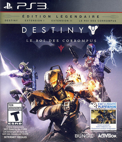 Destiny: The Taken King - Legendary Edition (French Version Only) (PLAYSTATION3) PLAYSTATION3 Game
