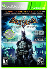 Batman Arkham Asylum - Game of the Year (Bilingual Cover) (XBOX360)