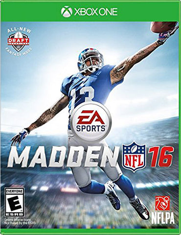 Madden NFL 16 (XBOX ONE) XBOX ONE Game