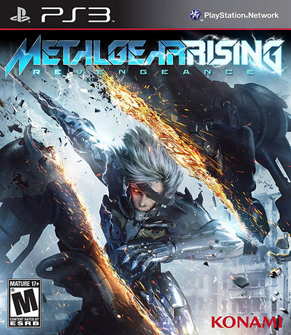 Metal Gear Rising Revengeance (CA Version) (PLAYSTATION3) PLAYSTATION3 Game