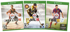 EA Sports Value Pack: NBA Live 15 / NHL 15 / FIFA 15 (3-Pack) (Xbox One) (XBOX ONE)