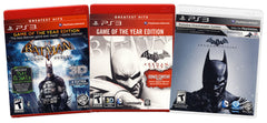 Batman Value Pack: (Arkham Asylum / Arkham City / Arkham Origins) (3-Pack) (Playstation 3) (PLAYSTATION3)