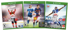 EA Sports Value Pack: NHL 16 / FIFA 16 / Madden NFL 16 (3-Pack) (Xbox One) (XBOX ONE)