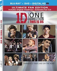One Direction - This Is Us (Blu-ray + DVD) (Blu-ray)