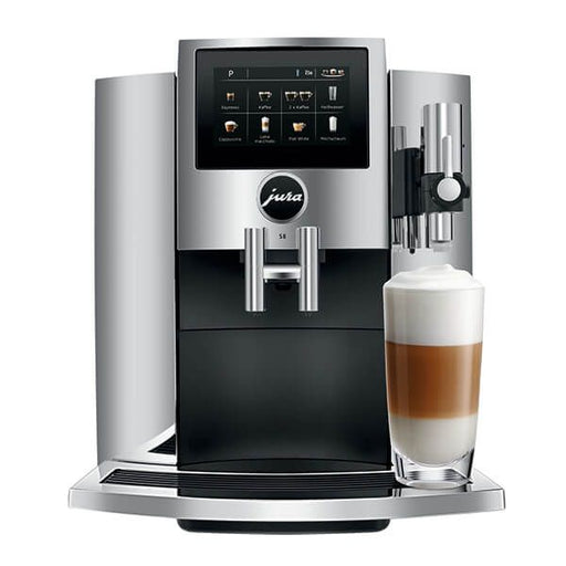 Jura S8 15443 Chrome Coffee Machine New 2021 Model-Bean to Cup Coffee Machines-Jura-northXsouth