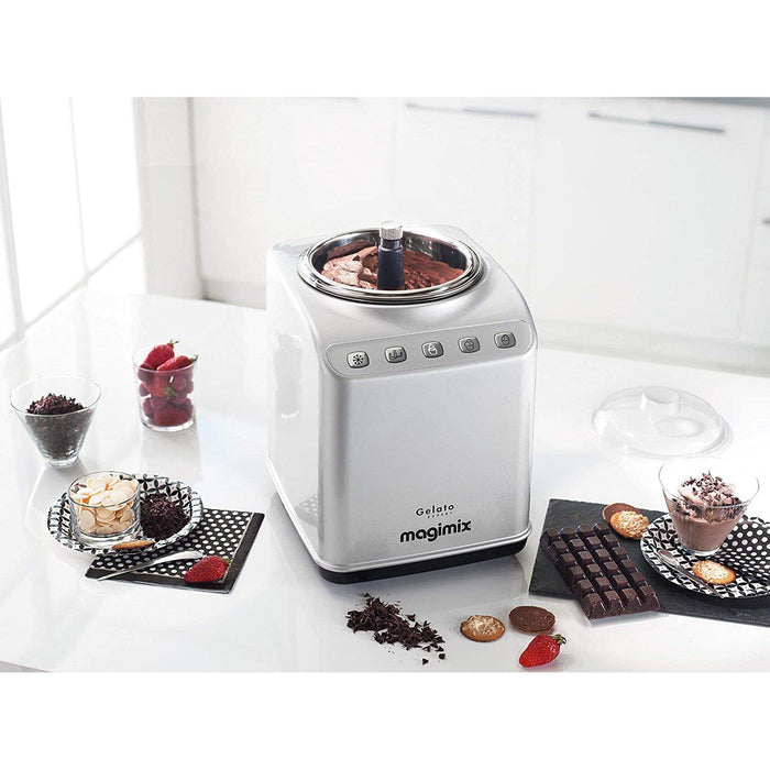 Magimix Gelato Expert Ice Cream Maker, Stainless Steel-Ice Cream Maker-Magimix-northXsouth