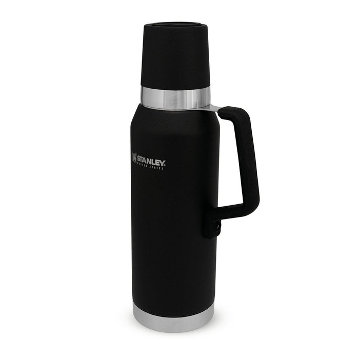 Stanley Master Unbreakable Vacuum Bottle, 1.3L Black-Thermal Drinks Flask-Stanley-northXsouth