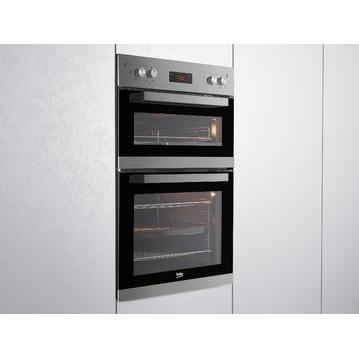 Beko CDF22309 Double Eye Level Oven - Stainless Steel-Double oven-Beko-northXsouth