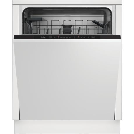 Beko DIN15C20 Integrated Dishwasher - Stainless Steel - A++ Energy Rated-Integrated Dishwasher-Beko-northXsouth