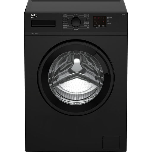 Beko WTK72041B 7kg 1200 Spin Washing Machine - Black - A+++ Energy Rated-washing machine-Beko-northXsouth