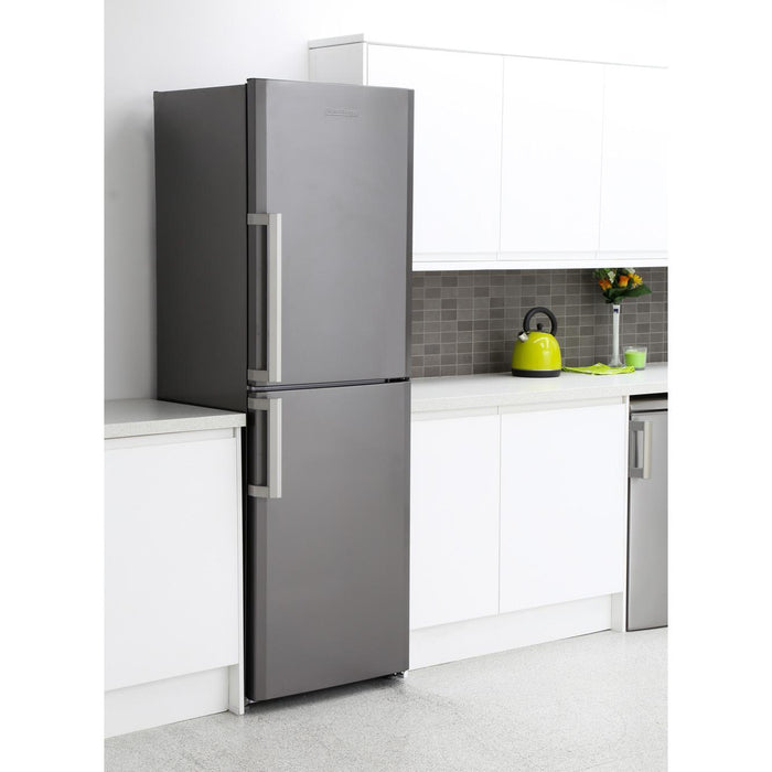 Blomberg KGM9681G 60cm Frost Free Fridge Freezer - Graphite-Fridge freezer-Bloomberg-northXsouth