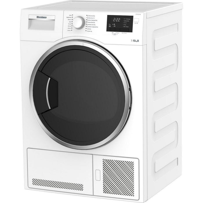 Blomberg LTK21003W 10kg Condenser Tumble Dryer - White-Tumble Dryer Condenser-Blomberg-northXsouth