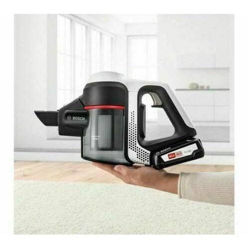 Bosch Unlimited Series 6 Cordless Vacuum Cleaner - White-Cordless Vacuum Cleaner-Bosch-northXsouth