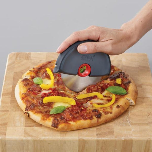 Joseph Joseph Disc Easy-Clean Pizza Wheel - Grey/Red-pizza cutter-Joseph Joseph-northXsouth