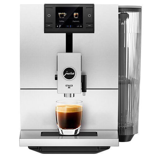 Jura ENA 8 Sunset Red Automatic Coffee Machine-Bean-to-Cup Coffee Machines-Jura-northXsouth
