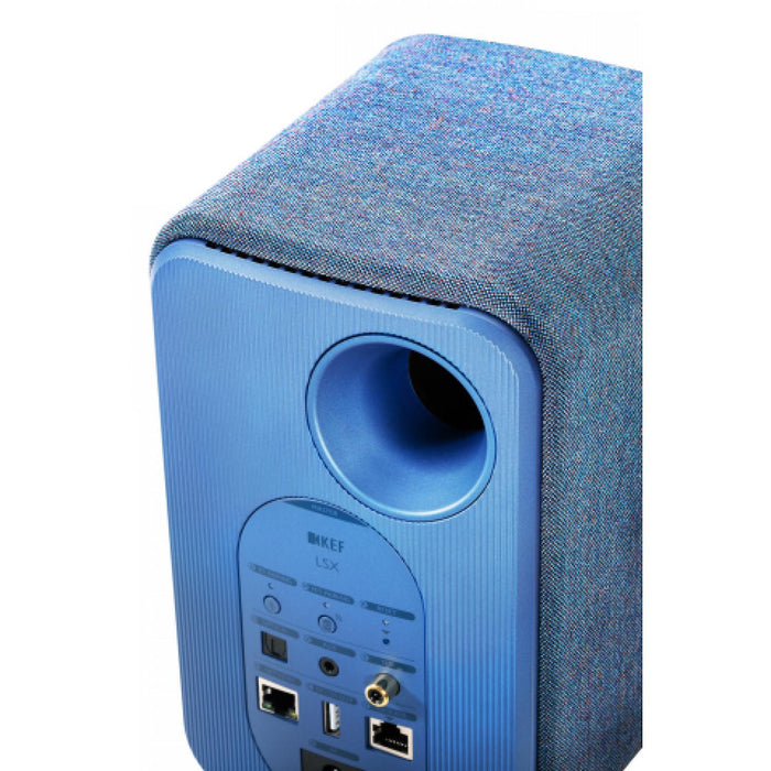 KEF LSX Wireless Speaker System - Blue-Wireless Speakers-Kef-northXsouth