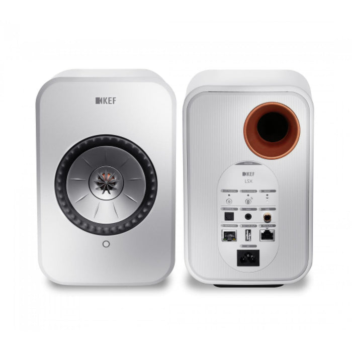 KEF LSX Wireless Speaker System - White-Wireless Speakers-Kef-northXsouth