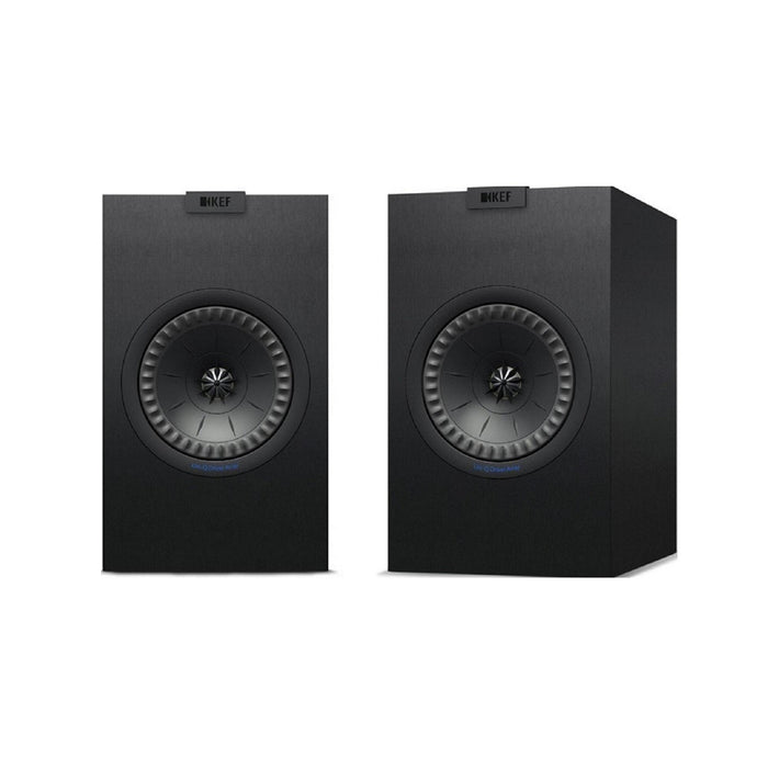 KEF Q150 Black Speakers Pair-Bookshelf Speaker-Kef-northXsouth