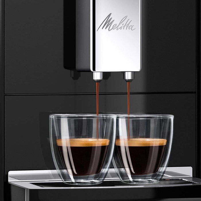 Meliita Purista Automatic Bean to Cup Espresso Coffee Machine - Black-Bean-to-Cup Coffee Machines-Melitta-northXsouth