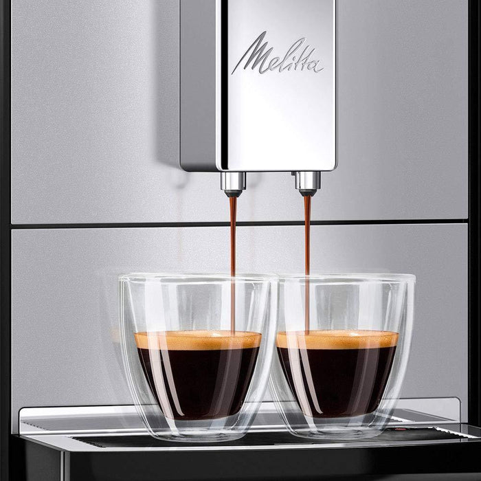 Meliita Purista Automatic Bean to Cup Espresso Coffee Machine - Silver-Bean-to-Cup Coffee Machines-Melitta-northXsouth