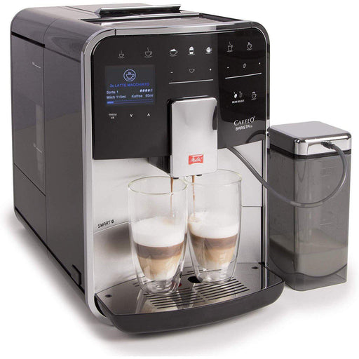 Melitta Barista TS Smart Fully Automatic Coffee Machine - Silver-Bean-to-Cup Coffee Machines-Melitta-northXsouth