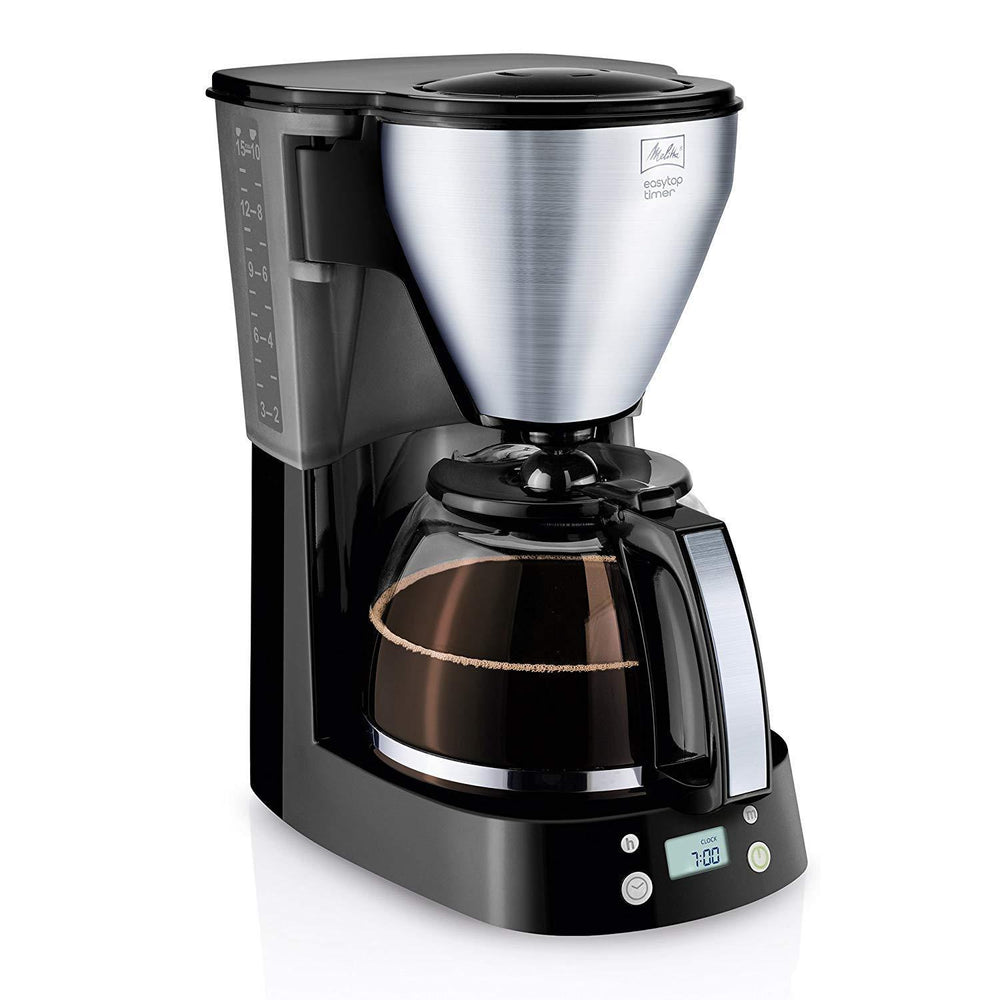 Melitta Easy Top Timer, Filter Coffee Machine - Black-Filtered Coffee Maker-Melitta-northXsouth