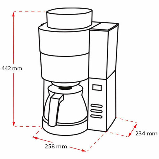 Melitta Grind and Brew Coffee Maker, with built in Grinder-Filter Coffee machine-Melitta-northXsouth